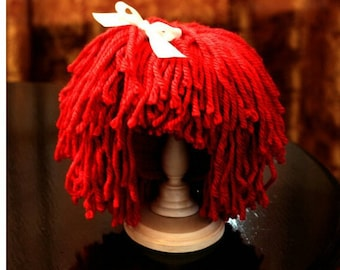 For All Ages, Raggedy Ann Doll Wig Hat!