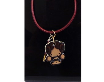 Star Wars Princess Leia Necklace 17inc Long. Perfect For a Star Wars Fan.