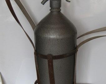 Vintage Russian Soda Siphon CO2 syphon Seltzer Bottle Soviet USSR - 5 liters