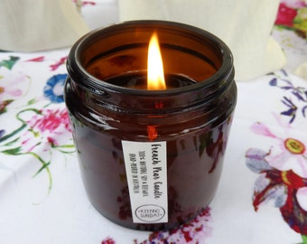 French Pear Beeswax & Soy Candle