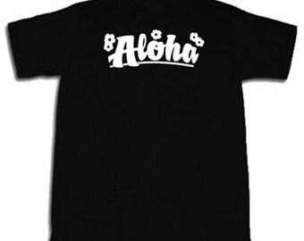 Aloha T-shirt Funny Hawaii Hawaiian Tee Shirt