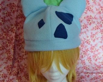 Bulbasaur Pokemon Hat- Adult/teen size- great fandom gift-Pokemon Go