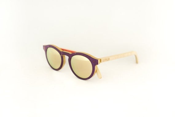 skateboard recycled sunglasses