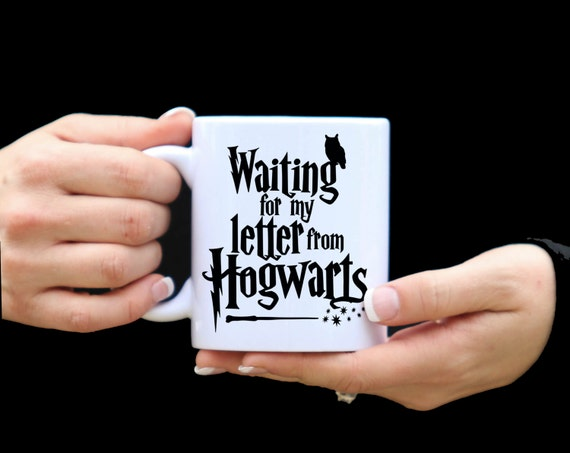 HARRY POTTER | Waiting for my letter from HOGWARTS | Harry Potter Mug | 11 oz.