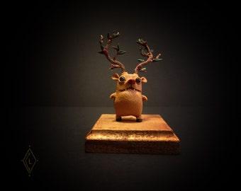 Figurine Art toy -Hinnulus Rosae- unique