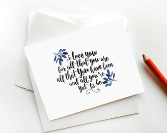 Valentines Day Card, I love you card, Printable Valentines Card, Digital Valentines Day, Valentine Cards, Anniversary Card for Boyfriend