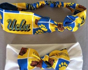 Ucla mommy daughter headband set
