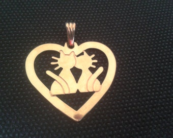 Pendant love cat