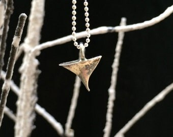 Rose thorn in sterling silver