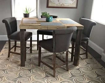 Counter Height Etsy - Counter height dining room tables