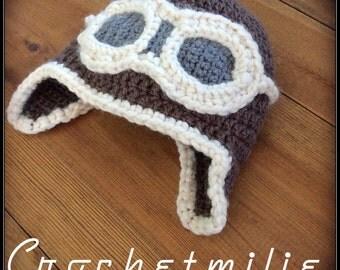Baby aviator hat