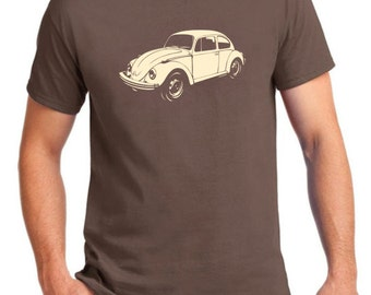 Men's VW bug T-shirt.  Volkswagen Beetle.