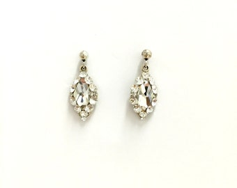 Swarovski Crystal Sterling Silver Earrings