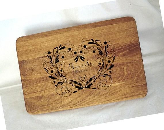 Wedding Gift Cutting Board: Personalized Cutting Boards Cutting Board Wedding Gift Custom