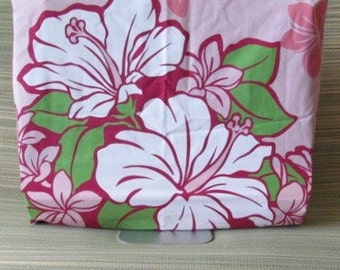 "Hawaiian print  dust cover for 21.5"" and 27"" iMac and other monitors/screens to show your aloha!"