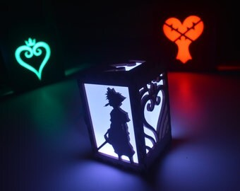 Kingdom Hearts Video Game Sora Luminary Color Changing Light