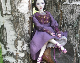 OOAK Boudoir doll Morgan.