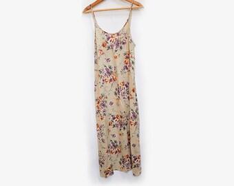 Floral Tank Dress S