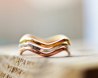 Stacking Ring Set Gold Stacking Rings 18k Gold Rings Multi Colour Stacking Rings Rose Gold Ring White Gold Ring 18k Gold Ring Stacking Rings