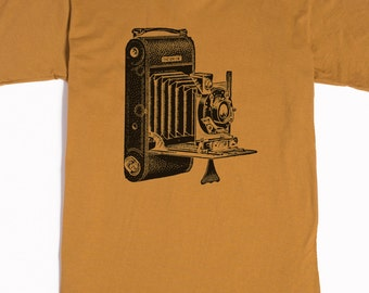 Men's Shirt - Camera T-shirt - Photography Tshirt - graphic t shirt