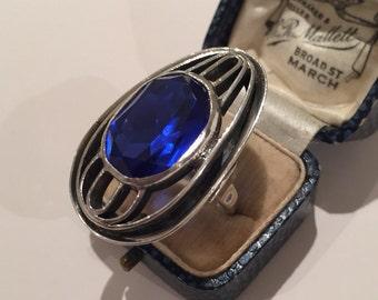 Vintage Silver Ring,  divine design piece