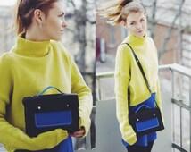 Designer handbags, Leather handbag, Black handbag, Leather crossbody bag, Small crossbody bag, Black leather crossbody bag, Simple black bag