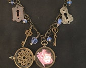 "Steampunk ""Dolly in the Deep"" Locket"