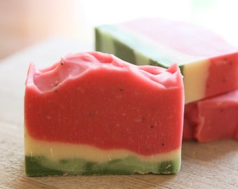 Watermelon Soap | Handmade soap | Cold process soap