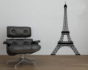 Eiffel Tower Tour Eiffel Paris France Wall Decal