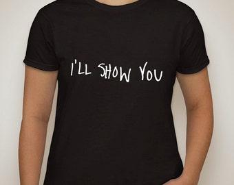 "justin bieber ""I'll Show You"" t-shirt"