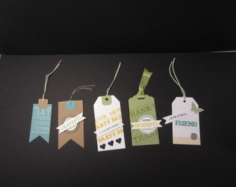 Set of Five Gift Tags