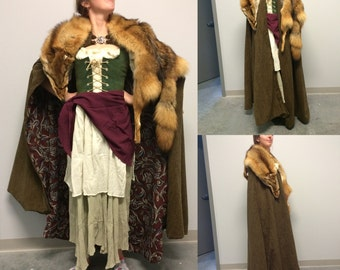 Game of Thrones Inspired Fur Cloaks