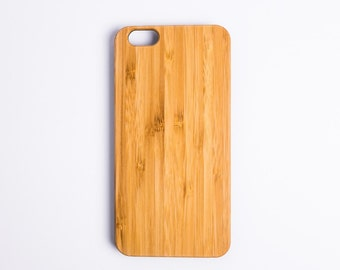 iPhone 7 Case Wood iPhone 7 Plus Wood Case iPhone 6 Case Wood iPhone 6 Plus Wood Case (Bamboo Slim)