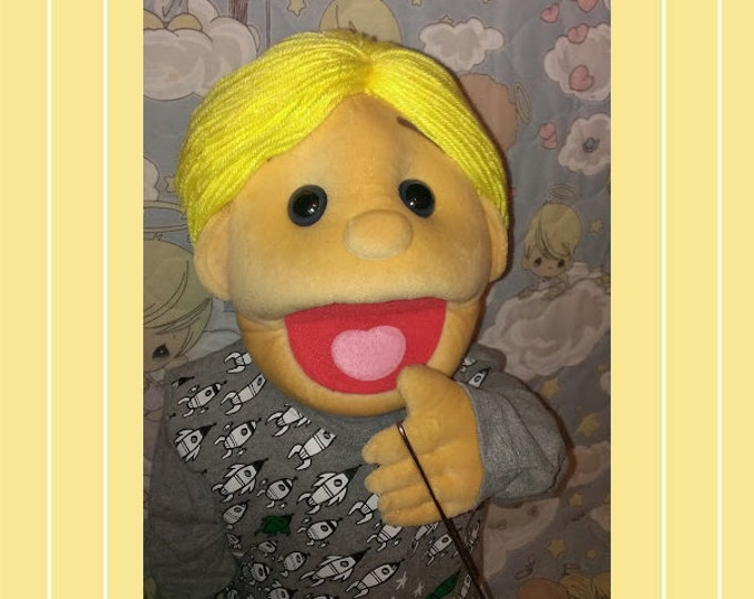 Puppet - Large Professional Half-Body Puppet - Arm Rod Boy Puppet - Original Puppets by Puppets For JESUS!