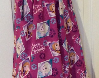 Disney Frozen Pillowcase Dress Size 7T