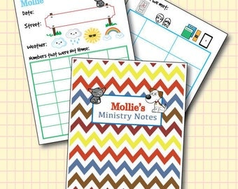 Kids Ministry Pages - JW Kids Print Yourself
