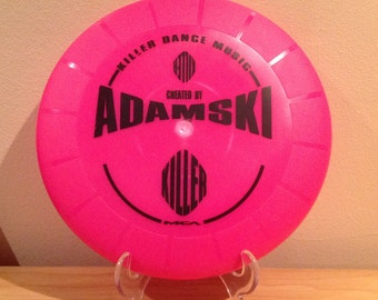 Promotional MCA Adamski Frisbee