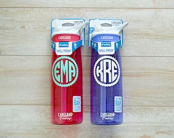 Monogrammed Camelbak Water Bottle .75L