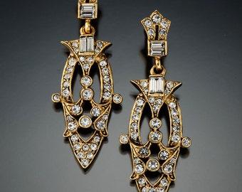 Art Deco Chandelier Earring