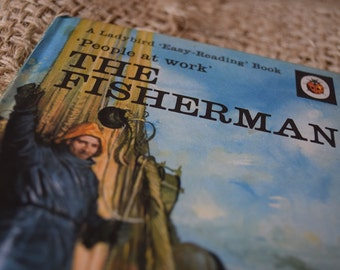 The Fisherman. A Vintage Ladybird Book. People at work. Series 606B
