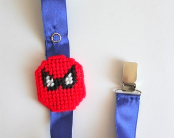 Boy pacifier clip,Spiderman pacifier clip,universal pacifier clip for baby,baby accessories,gift baby boy