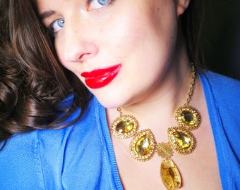 The Scorpion Queen Necklace in Gold