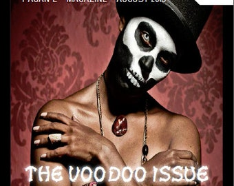 August 2015 Vol #3 Witch Way Magazine - Pagan/Wiccan/Voodoo/Spells/Magic/Wicca/Witchcraft/Paganism/Necromancy/metaphysical/spirituality