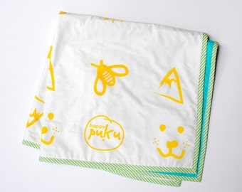 Random Fun | Baby Play Mat, Baby Blanket Quilt, Baby Shower Gift, Baby Blanket, Gifts for Babies