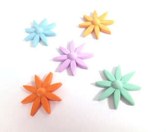 Fairy Garden, Fairy Coloured Stepping Stones, Fairy Daisy, Fairy Garden Accessory,Fairy Ladders.