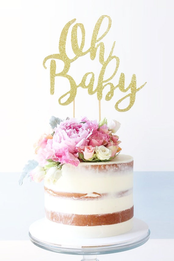 Ideas For Diaper Cake Toppers
