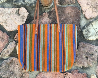 Handwoven, Hand-dyed Purse