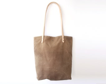 Everyday Tote | Waxed Canvas