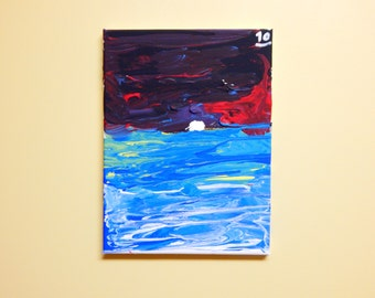 Ocean at Night (8x10)