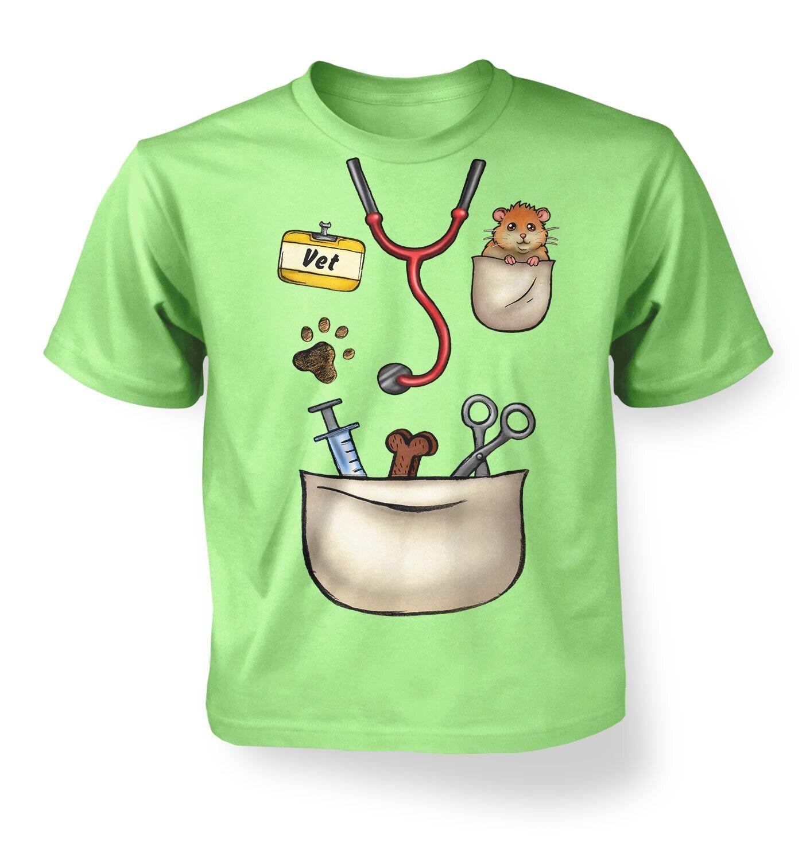 Vet costume kids t shirt for Diy custom t shirts